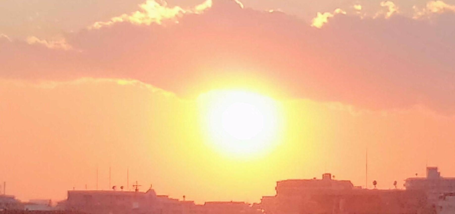20140101夕日